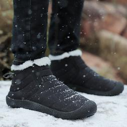 Men's Women's Winter Snow Boots Size 5 7 9 11 Outdoor Warm C