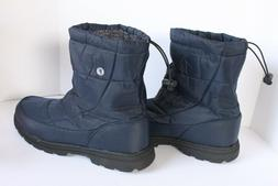 Exeblue Men Womens Winter Boots Snow Unisex Water Res Navy B
