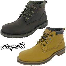 Wrangler Mens Ankle Boots Leather Fashion Padded Work Lace W