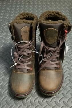 Pajar Mens Trooper 2.0 Brown Winter Boots Shoes 43 EU/10-10.