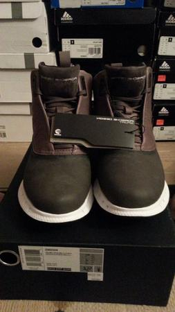 Adidas Porsche Design Mens Winter Snow Bounce Black Boot