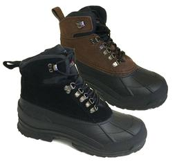 """Brand New Men's Winter Boots Leather  Warm 6"""" Insulated Hiki"""