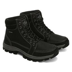 New US Mens Winter Work Snow Boots Warm Lined Shoes Waterpro