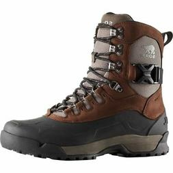 SOREL PAXSON Tall WATERPROOF Leather INSULATED Winter SNOW R