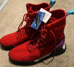 Red Adidas Boots Winter Style Mens Size 12