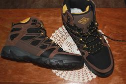 St Johns Bay Mens Hill BRN Brown Hiking or Winter Boots Size