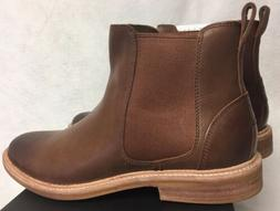 UGG LEIF 1013135 British Tan Leather Winter Boots Shoes Men'