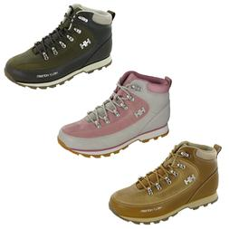 Helly Hansen Womens Boots Forester Winter Ankle Walking Wate